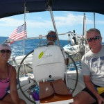 Sailing to St. Barth's