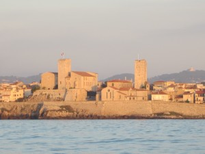 The walled city of Antibes
