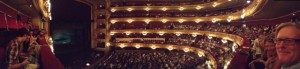 The Liceu Opera House In Barcelona