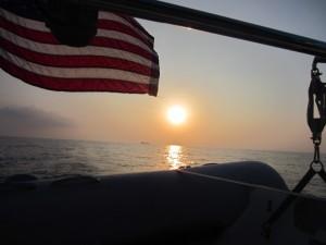 Sunset August 2, 2014