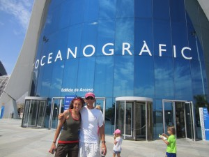 Valencia and the Oceanographic Museum