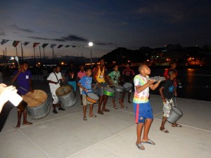 Drum line-Cape Verde style