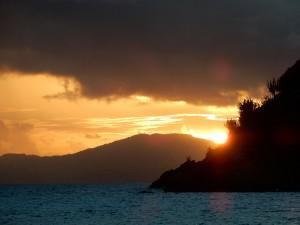 Sunset--Jost Van Dyke style
